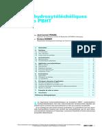 Oligomères Hydroxytéléchéliques de Butadiène PBHT