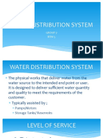 Water Distribution Layouts