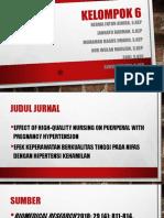 Kelompok 6 Analisis Jurnal