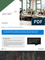 Azure Migration Customer Pitch Deck 120718 v2.1