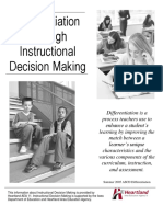 instructional decision making