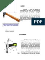 Types of Hammer