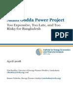 Adani Godda Power Project April 2018