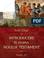 Iosif Feher - Introducere În Studiul Noului Testament (2017, Dumitru Roșu)