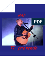RAF - Ti Pretendo