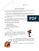 Methods of Soil Compaction