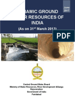 Dynamic ground water resources of india