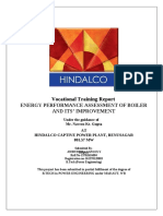 Hindalco Boiler Efficiency
