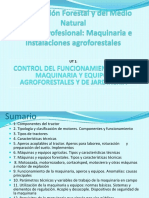 Control y Fucionamiento de Maquinaria y Equipos Agroorestales