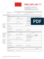 PRUlink Application for Top-up
