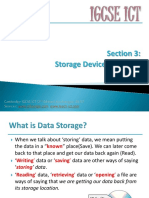 section 3 storage devices   media