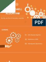 AES Rijndael Algorithm (PPT REPORT)