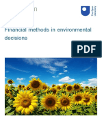 Financial Methods in Environmental Decisions Printable