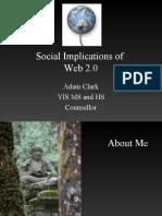Social Implications of Web 2.0