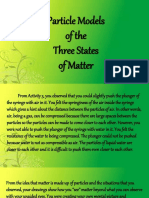 Particle Models of the Three States of Matter