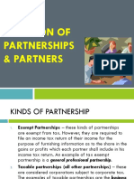 Partnership Estates and Trusts