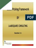 Stock Picking Framework