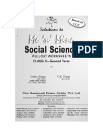 Solutions to Mnm Social Science x 2nd Term Pws Total 144 Pages