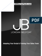 Adapting Your Script Training Your Sales Team