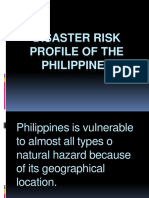 Disaster Risk Profile of the Philippines