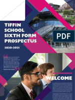 Tiffin Sixth Form Prospectus