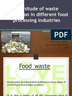Types of Waste and Magnitude of Waste Generation