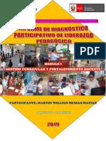 INFORME DE DIAGNOTICO PARTICIPATIVO DE LIDERAZGO PEDAGOGICO