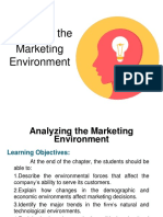 1.1 Analyzing the Marketing Environment