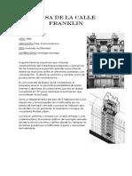 CASA DE LA CALLE FRANKLIN
