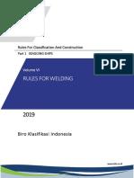 ( Vol VI ),2019 Rules for Welding,2019.pdf