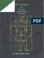 Metodologia Del Diseño-fundamentos Teoricos Vilchis