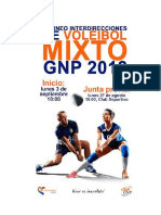 Convocatoria Inter Voleibol
