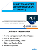 Materi Online Submission - OJS