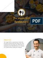 Food Startup Pitch Deck With Animation