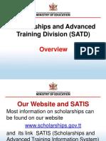 CAPE Postgrad Scholarship Overview