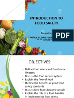 1 Introduction to Food Safety