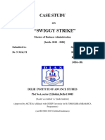 Swiggy Strike