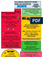 Mobile Regional Senior Community Center December Newsletter