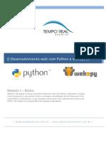 Desenvolvimento Web Com Python e Web2py - Básico - Web2pybrasil.com.Br