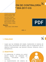 SEM 3. RESOLUCIÓN DE CONTRALORÍA N°146 - 2019