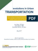 Three Revolutions in Urban