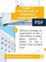 STRAMAN Chapter 1 - The Nature of Strategic Management (1)