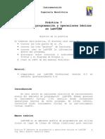 7 Ambiente de Programación y Operaciones Básicas en LabVIEW