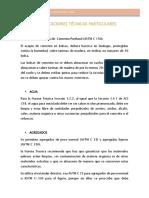 4.0 Especificaciones Tecnicas Particulares