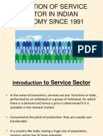 evolution of the service sector