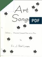 Christian Art Songs - Cover