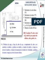 Projetos de sistemas mecanicos UFSJ