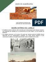 c Unidades de Albañilería