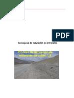 Conceptos de Lixiviacion Minerales