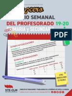 Lapicerillo Horarios 19-20